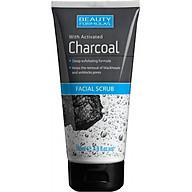 Sữa rửa mặt Beauty Formulas Charcoal Facial 150ml - than hoạt tính tẩy tế bào chết thumbnail