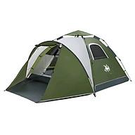 Lều cắm trại chịu mưa 2 lớp 2 phòng dành cho nhóm 3-4 người đi du lịch dã ngoại GL1668 thumbnail