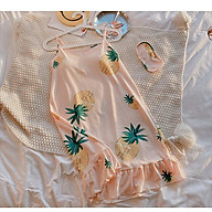Váy 2 dây, váy mặc nhà dáng suông hình dứa siu xinh HB20 thumbnail