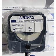 Nhãn trắng LM-TP309W (9mm, 8m cái) máy in đầu cốt LM-390, LM-380 thumbnail