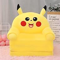 Ghế Lười Bông Cho Bé Hình Thú Pikachu thumbnail