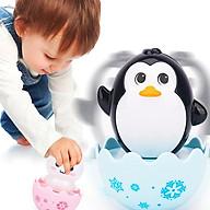 Lật đật cho bé hình thú hoạt hình ngộ nghĩnh đáng yêu hình gà con thỏ trắng và chim cánh cụt DC041 thumbnail