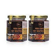 Combo 2 hũ Mật Ong chín TD Organic hoa CAFE Tây Nguyên ( Hũ 230g X2 ) thumbnail