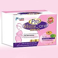 Thực phẩm bảo vệ sức khoẻ PRO MUMCARE DHA&IQ dùng cho phụ nữ mang thai Hộp 30 viên thumbnail