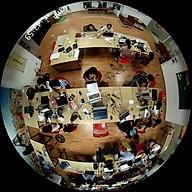 Camera mắt cá 360 toàn cảnh SYFUJ Fisheye 2MP, PoE thumbnail