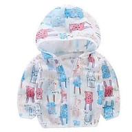 Áo khoác chống nắng Thông hơi cho bé trai, bé gái từ 10 - 24 ký thumbnail