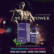 Viên Uống Tăng Cường Sinh Lý Nam Velvet Power Hauora thumbnail