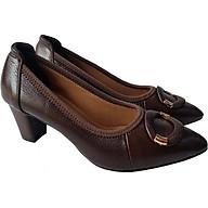 Giày Cao Gót Nữ Công Sở Da Bò BIGGBEN GCG2 thumbnail