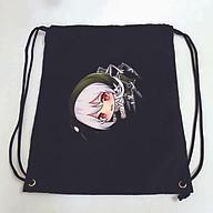 Balo dây rút đen in hình IDENTITY V ver TREO game anime chibi M1 túi rút đi học xinh xắn thời trang thumbnail
