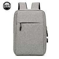 Balo Nam Nữ Thời Trang Besti - Balo Laptop, Macbook 15.6 inch - Hàng Chính Hãng thumbnail