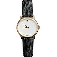 Đồng hồ nữ Goldenstar 3201 Dây da đen thumbnail