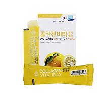 Thạch cam Hàn Quốc bổ sung Collagen và vitamin C làm đẹp và sáng da _ Collagen Vita Jelly Citron thumbnail