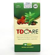 Thực phẩm bảo vệ sức khỏe hỗ trợ hạ đường huyết TĐCare 60 viên thumbnail
