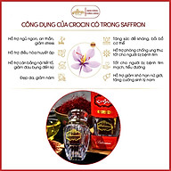 Nhụy Hoa Nghệ Tây SAFFRON BAHRAMAN Combo 3 hộp 0,5Gr hộp thumbnail