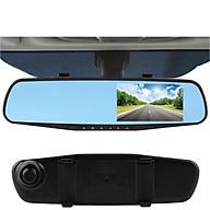Camera hành trình dạng gương chiếu hậu thumbnail