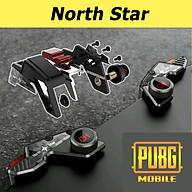Bộ 2 nút bấm chơi game cap cấp Pubg Mobile North Star hỗ trợ chơi game trên điện thoại - Hàng chính hãng thumbnail
