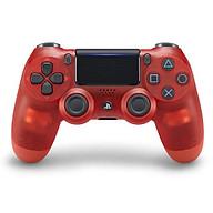 Tay Cầm PlayStation PS4 Sony Dualshock 4 Red Crystal (Màu Đỏ Trong) - Hàng nhập khẩu thumbnail