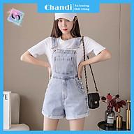 Yếm Jean Nữ Thương Hiệu Chandi, Yếm Nữ Quần cao cấp mẫu mới hot trend 2021 mã NT338 thumbnail