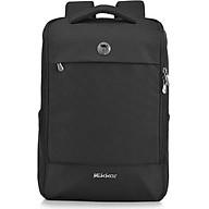 Balo laptop cao cấp 15.6 inch (Macbook 17inch) Mikkor Lewie Backpack chống thấm nước, ngăn đựng rộng rãi, ngăn laptop chống sốc có đai cài an toàn, quai đeo êm ái giảm cảm giác mỏi vai và lưng khi đeo thumbnail