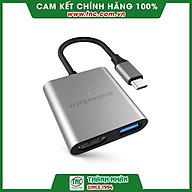Cổng chuyển HyperDrive HDMI 4K 3in1 USB-C Hub HD259A-Hàng chính hãng. thumbnail
