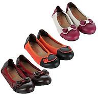 HT7863-64-65 - Giày trẻ em nữ Huy Hoàng da bò phối nhiều màu thumbnail
