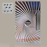Combo Hộp Quẹt Bật Lửa Ga Đá Khắc Họa Ảo Giác DP-08 + Kèm Vỉ Đá Đánh Lửa 8 Viên Chuyên Dụng Cho Bật Lửa Gas Đá thumbnail
