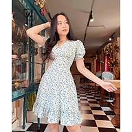[ẢNH THẬT CÓ SẴN] Đầm nữ hoa nhí thiết kế dịu dàng, vintage mặc hè SIÊU MÁT SIÊU THOẢI MÁI thumbnail