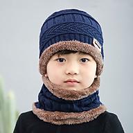 Mũ len kèm khăn cho bé thumbnail