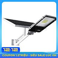 Đèn led năng lượng mặt trời công suất 200w, lắp đặt công viên đèn đường, Có điều khiển từ xa, cảm biến ánh sáng tự động thumbnail