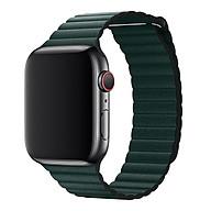 Dây Da Leather Loop cho Apple Watch 38mm 40mm 42mm 44mm thumbnail