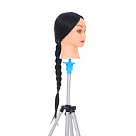 24 Mannequin Head With Head Stand For Braiding Training Practice Manikin Head For Hairdresser Cosmetology Dummy Head thumbnail