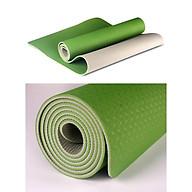 Thảm Tập Gym , Yoga Chất Liệu TPE 2 Lớp , Bám Chống Trơn , Không Mùi thumbnail
