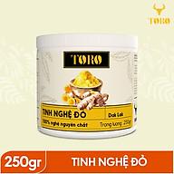 Tinh bột nghệ đỏ TORO Curcumin 250g - từ Dak Lak - 100% tinh nghệ đỏ [TORO FARM] - [TORO COFFEE] thumbnail
