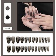 Bộ 24 móng tay giả nail thời trang như hình (R-140) thumbnail