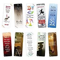 Bộ 10 Bookmark song ngữ truyền cảm hứng đọc sách thumbnail