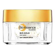 Kem Dưỡng Ngăn Ngừa Dấu Hiệu Lão Hóa Chiết Xuất Vàng Sinh Học 24K Bio-Gold SPF25 Bio-Essence (Ban Ngày) thumbnail