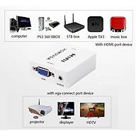 Hộp HDMI to VGA converter HDMI2VGA thumbnail