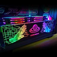 Thanh Led RGB Coolmoon Scifi bar đồng bộ Hub , Dùng độ trang trí cho case nguồn máy tính - Hàng nhập khẩu thumbnail