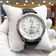 Đồng hồ nam Hegner HW-5046MWWH [Full Box] - Kính Sapphire, chống xước, chống nước - Dây da cao cấp thumbnail