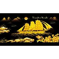 Tranh đính đá Thuận buồm xuôi gió nền đen (95X50cm )chưa đính - YN5448 thumbnail