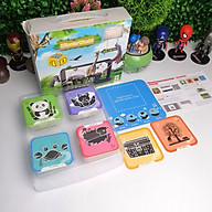 Bộ thẻ hình ảnh animal 4D hình con vật 60 thẻ chính tặng kèm 3 thẻ phụ hình khung cảnh Miaotu world hỗ trợ tiếng việt - Hàng thẻ xịn không phải thủ công thumbnail