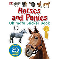 Ultimate Sticker Book Horses And Ponies thumbnail