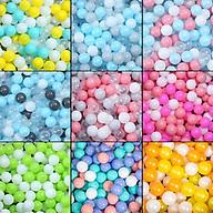 100 bóng nhựa loại đẹp CÓ VIDEO SIÊU CĂNG Banh khu vui chơi an toàn cho trẻ màu pastel thumbnail
