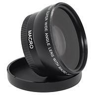 55mm 0.45x Wide Angle Macro Lens for Nikon Canon Sony DSLR DC Camera 18-55mm thumbnail