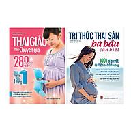 Combo Tri Thức Thai Sản Bà Bầu Cần Biết Và Thai Giáo Theo Chuyên Gia 280 Ngày TẶNG 365 Ngày Cùng Con Phát Triển Trí Tuệ (1 Chủ Đề Ngẫu Nhiên) thumbnail