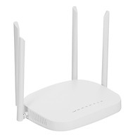 X11 4G LTE Smart WiFi Router 300Mbps High Speed Wireless Router with 4 External Antennas SIM Card Slot White America thumbnail
