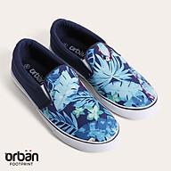 D&A giầy slipon nữ UL1709 hoa xanh chàm thumbnail