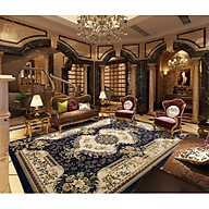 Thảm Trải Sàn Sofa Sang Trọng Hiện Đại Trang Trí Phòng Khách Bali in 3D Nhung Nỉ Lì Cao Cấp thumbnail