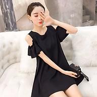 Đầm bầu thời trang khoét vai DN1908205 thumbnail