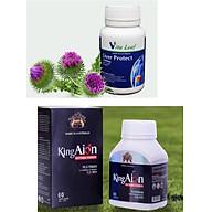 Thực phẩm thải độc gan Liver Protect Và Thực phẩm bảo vệ sức khỏe King Aion - Liệu trình sức khỏe nam giới thumbnail